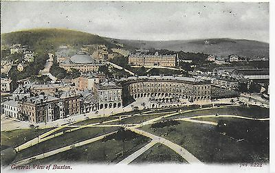Lovely Rare Vintage Postcard,general View Of ,buxton,derbyshire