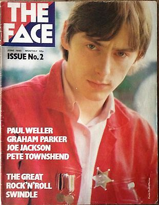 The Face Magazine Issue  No. 2 June 1980 Paul Weller