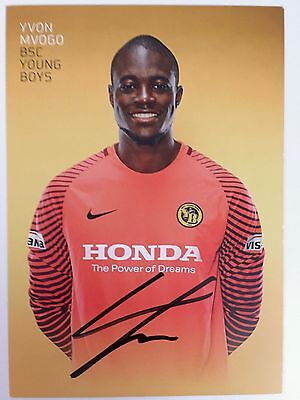 Yvon Mvogo, Young Boys Bern, sign. AK 2016/17 *SCHWEIZ*RB Leipzig*