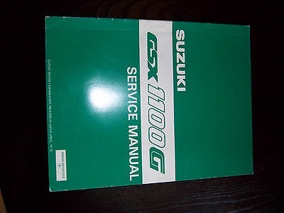 Suzuki GSX1100G genuine Service Manual