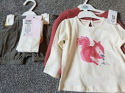 M&S girls outfit 9-12 months