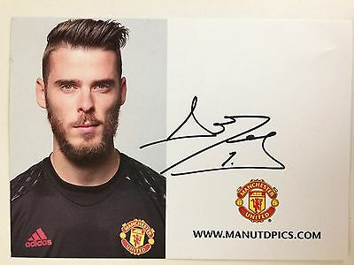 David de Gea, Manchester United, sign. AK 2016/17 *SPANIEN*