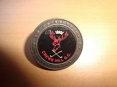 A Golf Ball Marker for The Crews Hill Golf Club
