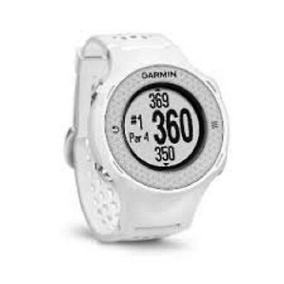 Garmin Approach S4 NOH GPS Golf Watch Touch Screen Rangefinder - white