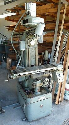 Rockwell vertical & horizontal milling machine - two motors, 3-phase, USA-made