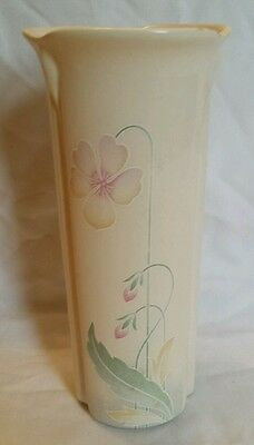 "Pretty Vintage Royal Cauldon ""pansy""  Vase 8"" Tall"