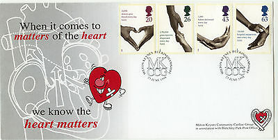 National Health Service Bletchley Park Official FDC