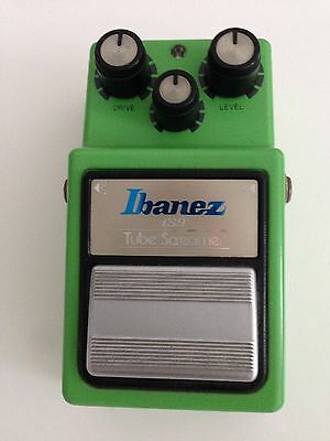 IBANEZ TUBE SCREAMER TS 9- Vintage -1.Generation - 35 Years old - exc. condition