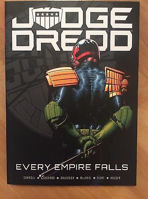 2000AD Judge Dredd: Every Empire Falls Graphic Novel Paperback Carroll Ezquerra