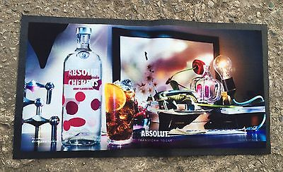 Absolut Vodka Cherry Bar Runner/ Pub/ Bar/ Brand New