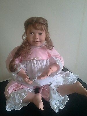 Tooth Fairy Dreams For Emma Doll. Bradford Exchange Ashton Drake. Excellent Cond