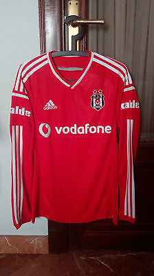 BESIKTAS, Official third long sleeve PLAYER ISSUE shirt, used in 2014-15 season