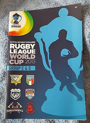 2013 Rugby League World Cup: Group C & D Programme