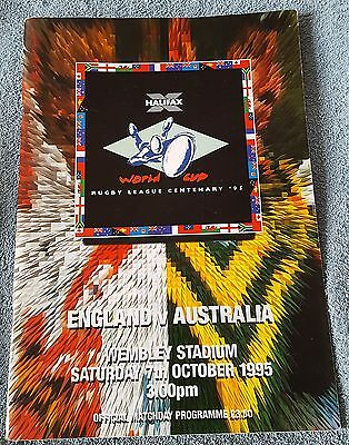 1995 Rugby League World Cup: England vs. Australia