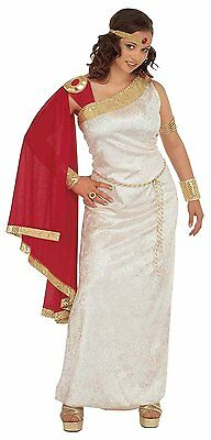 Ladies Lucilla Costume Large UK 14-16 for Toga Party Rome Sparticus Fancy Dress