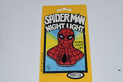 Spider Man Night Light 1978 Electricord Vintage Marvel
