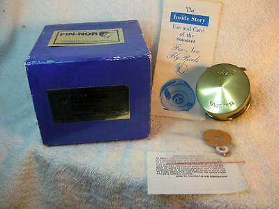 Fin-Nor #2 Fly Reel, Line, 2 Pc. Box, Manual, Brake Parts, Warranty, EXCELLENT