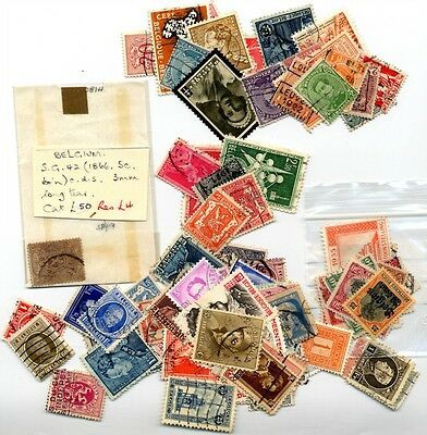 97 Stamps from Belgium