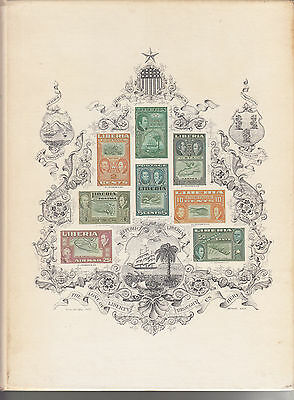 A Century Of Liberian Philately, Signed By Rogers, Hardcover 204 Pages