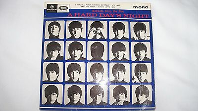 """The Beatles - A Hard Day's Night (7"""" Vinyl Record,45rpm,1970s) - K12371 p"""