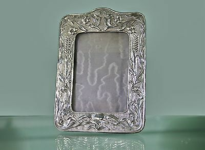 Solid Silver Art Nouveau Photograph Frame 1902 William Davenport Birmingham
