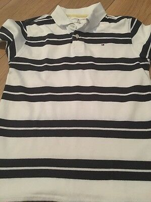tommy hilfiger t shirt Boys M (8-10) Age 10/11 Polo Top