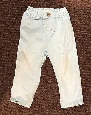 Country Road Baby Boy Blue Pants Chinos Size 2, 18-24 Months