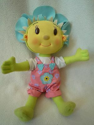 fifi and the flowertots toy soft doll talking VGC