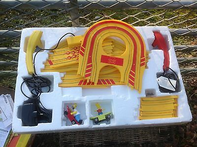Scaletrix Hornby The SImpsons Skateboard Chase- Electic Micro Slot Racing Set