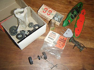Vintage Airfix Slot Car bits and bobs lot