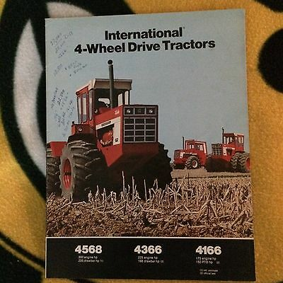 International Harvester Farm Brochures  1970's