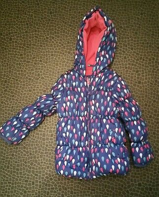 Beautiful Padded Girls Winter Coat, Age 5-6, Mothercare - Bargain!!
