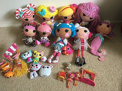 Lalaloopsy Dolls  Full Size, Littles And Accessories In Great Condition