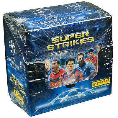 SOCCER - 2009/10 UEFA Champions League 'Super Strikes' Card Box (Panini) #NEW