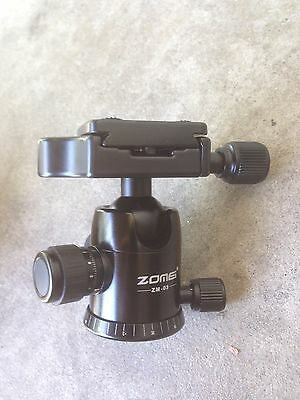ZOMEI Professional Ultimate Ballhead with Quick Release Plate for Tripods
