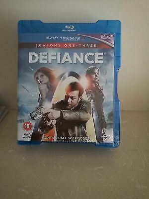 DEFIANCE SERIES 1-3 COMPLETE BLU RAY BOX SET *NEW* Sealed