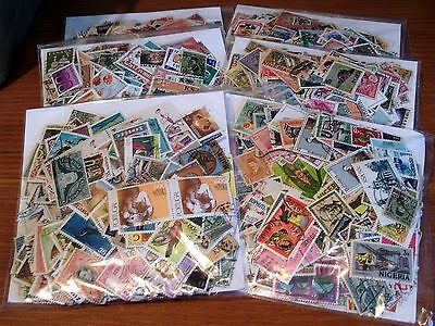 500 Off Paper All World Stamps, Mainly Used, Some Older Seen, Good Selection.