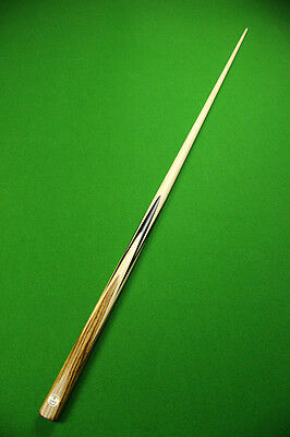 NEU* AHORN * Emperor 1 Piece MAPLE Shaft African Ebony Handmade Snooker Cue Set