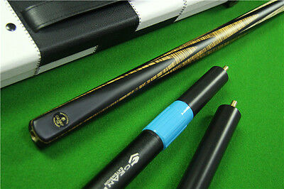 NEU*TRADITIONAL Serie Nr 159 Snooker Cue Komplett Set Hand Splices 58 inch/147cm