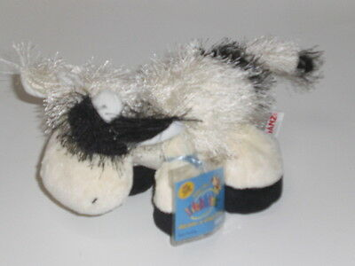 New Large Webkinz Cow White & Black Holstein Retired With Sealed Code Booklet