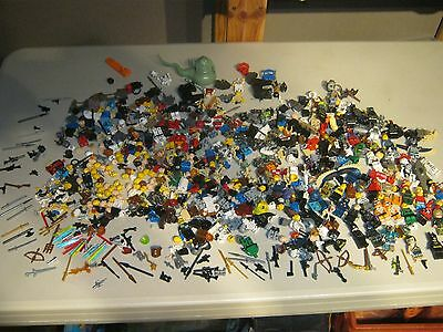 Lego Minifigs huge lot 125+ Batman, Jack sparrow, Simpsons, H. Potter, star wars