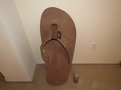 """Giant 36"""" Rainbow Flip Flop Thong Sandal Retail Store Display Leather 10Lb!"""