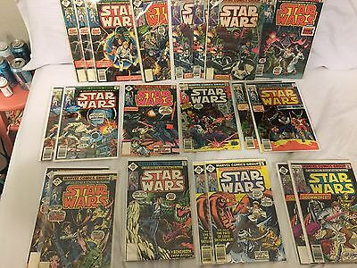 Star Wars 1st Series 1977 1-42-68-107 Complete Marvel Comics + Annuals, Extras!