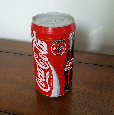 Coca Cola 1995 Can Coasters- 6 Stacking Coasters