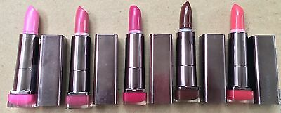 Lot of 5: NEW CoverGirl Lip Perfection Lipstick - No Repeats (Full Size, As Is)