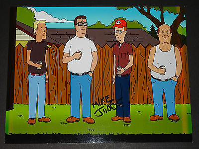 Mike Judge Signed Autographed Photo King Of The Hill Beavis & Butthead Hank Hill