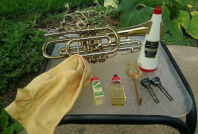 Besson 'Stratford' vintage cornet, Made in England