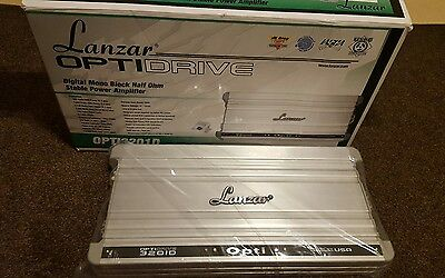 Lanzar Optidrive  3201D Mono Car Sub Subwoofer Amp Amplifier 3200 RMS