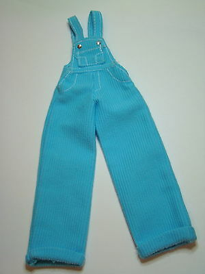 Barbie Doll 1997 Cool Blue Corduroy Overalls