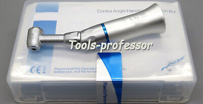 Dental 1.6mm Low Slow Speed E Type Contra Angle Handpiece Push Button CE
